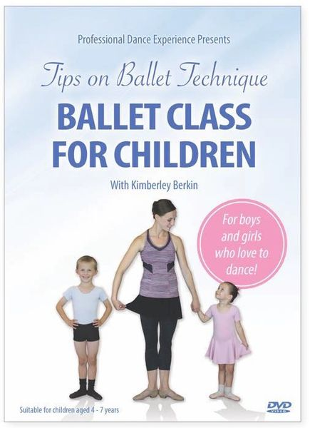 DVD Ballet Class for Children