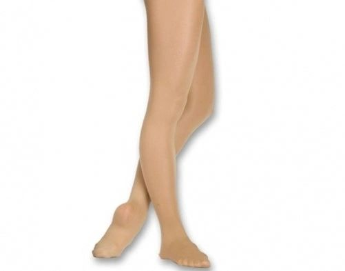 CHILDREN'S CAPEZIO FOOTED SHIMMER TIGHTS