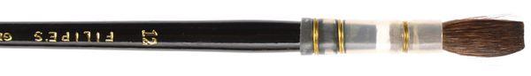 sku#1301 Black Brush #12