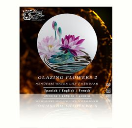 sku#7203 Water Lily - DVD - Flower 2