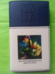 SKU#9901 Calendar/Note pad pocket book - one with purchase while supplies last