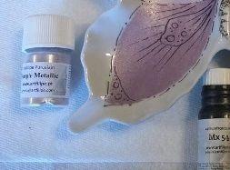 sku#2926 PURPLE Metallic single, paint - 12 grams