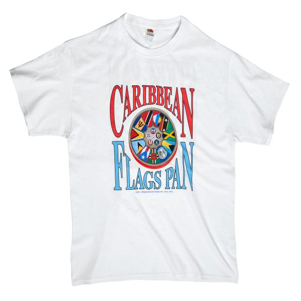 Caribbean Pan Tshirt. Click to see shirt back. Sizes; L, M, XL. (next day shipping). Can special order needed size (add $3.00). Takes 2-4 days to ship.