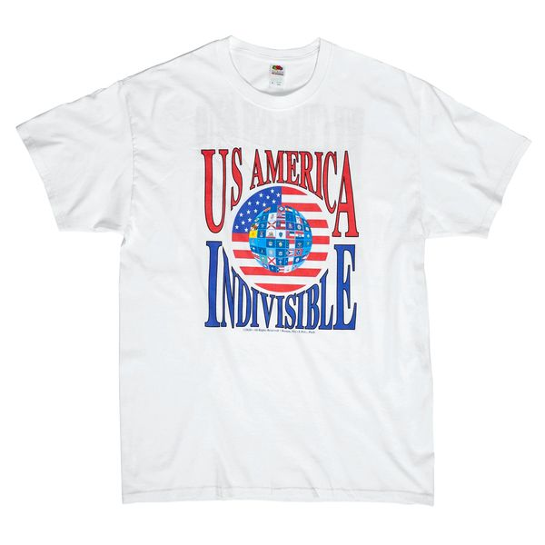 US (us) America Tshirt. Click to see back of shirt. Sizes; M, L, XL. Next day shipping. Can special order other sizes (add $3.00) - 2-4 days. to ship.
