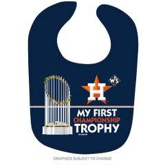 Houston Astros 2017 World Series Champions Baby Bib MLB Licensed