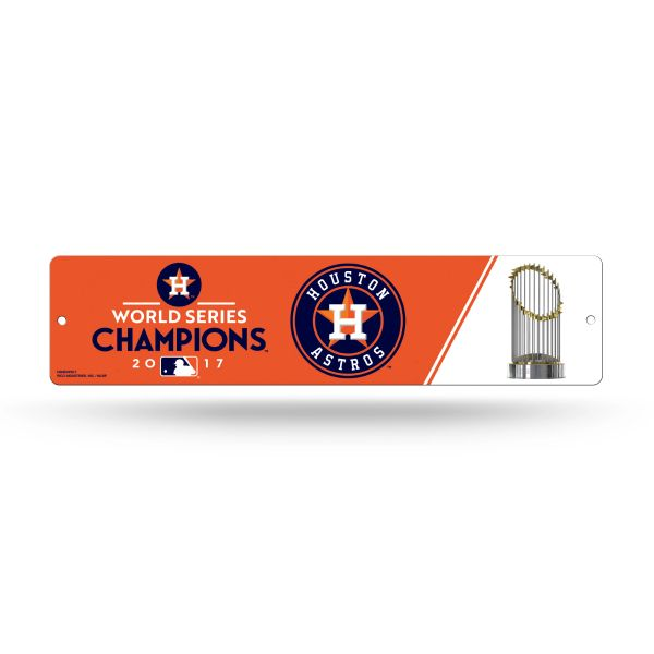 Houston Astros 2017 World Series Champions Street Sign MLB Licensed