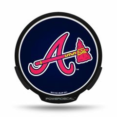 Atlanta Braves LED Window Decal Light Up Logo Powerdecal
