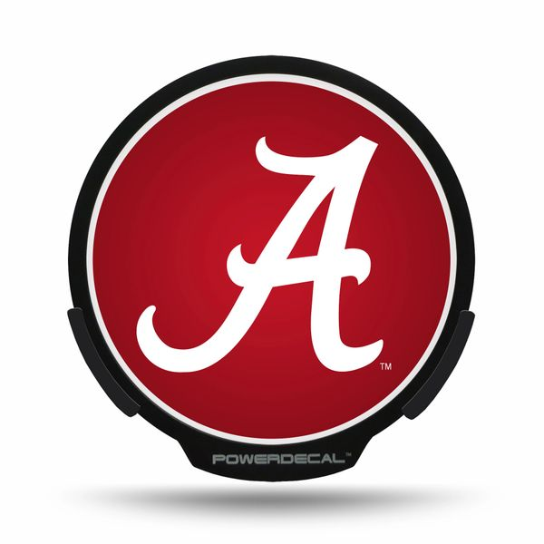 Alabama Crimson Tide LED Window Decal Light Up Logo Powerdecal NCAA