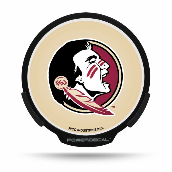 Florida State Seminoles LED Window Decal Light Up Logo Powerdecal NCAA