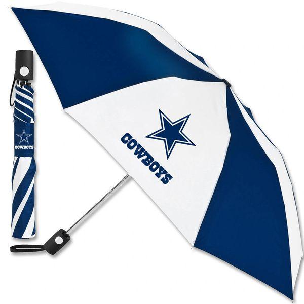 "Dallas Cowboys Automatic Push Button Umbrella 42"" NFL"