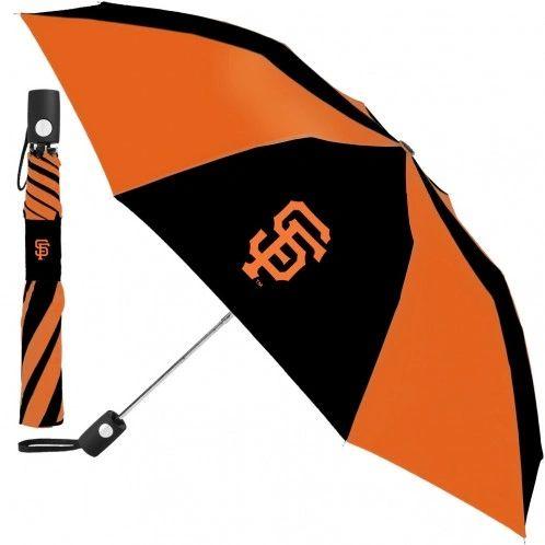 "San Francisco Giants Automatic Push Button Umbrella 42"" MLB Licensed"