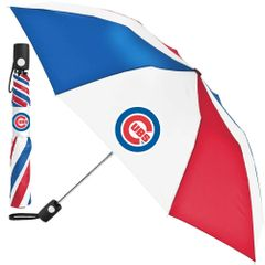 "Chicago Cubs Automatic Push Button Umbrella 42"" MLB Licensed"
