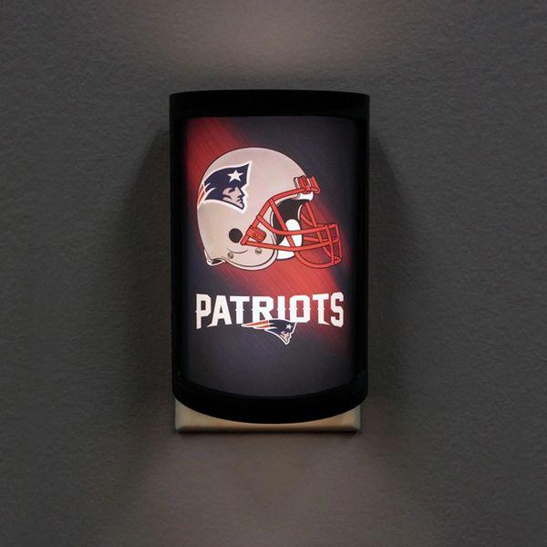 New England Patriots LED Motiglow Night Light NFL Party Animal