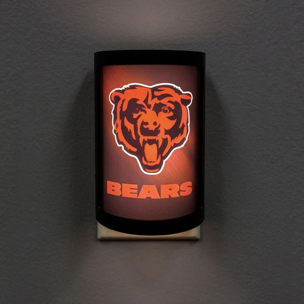 Chicago Bears LED Motiglow Night Light NFL Party Animal