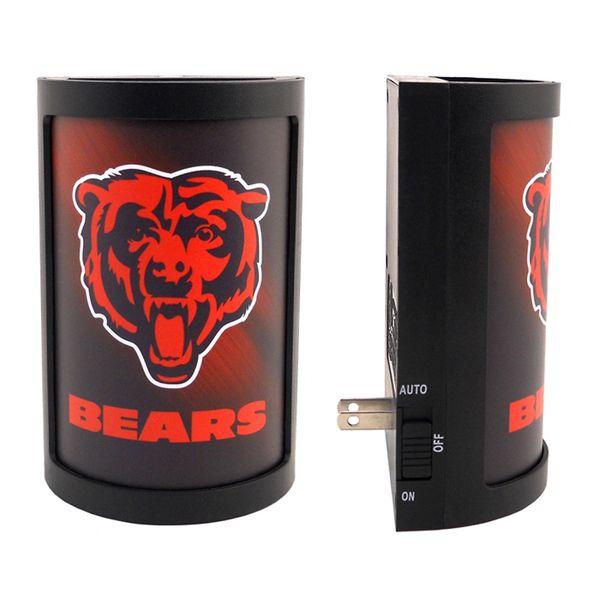 Chicago Bears LED Motiglow Night Light NFL Party Animal