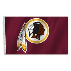 Washington Redskins Team Logo Banner Flag 3'x5' NFL Licensed