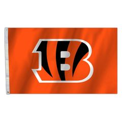 Cincinnati Bengals Team Logo Banner Flag 3'x5' NFL Licensed