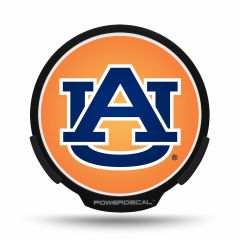 Auburn Tigers LED Window Decal Light Up Logo Powerdecal NCAA