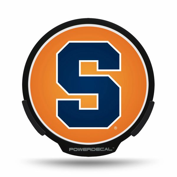 Syracuse Orangemen LED Window Decal Light Up Logo Powerdecal NCAA