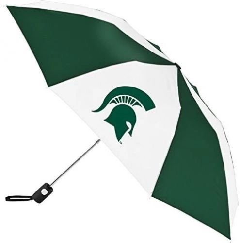 "Michigan State Spartans Automatic Push Button Umbrella 42"" NCAA"