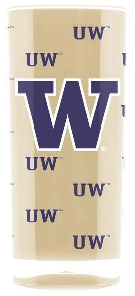 Washington Huskies Insulated Tumbler Cup 20oz NCAA Licensed