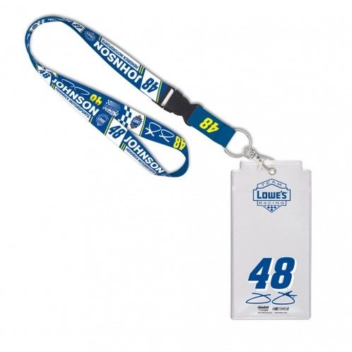 Jimmie Johnson #48 Lanyard w/ Credential Holder