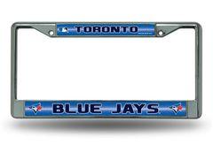 Toronto Blue Jays Chrome Bling License Plate Frame MLB Licensed
