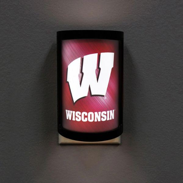 Wisconsin Badgers LED Motiglow Night Light NCAA Party Animal