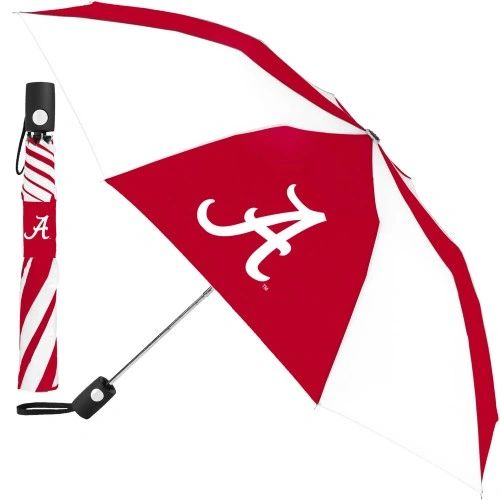 "Alabama Crimson Tide Automatic Push Button Umbrella 42"" NCAA"