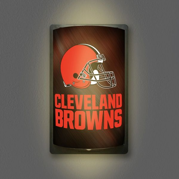 Cleveland Browns Motiglow Light Up Wall Sign NFL Party Animal