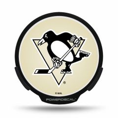 Pittsburgh Penguins LED Window Powerdecal Light up Logo NHL