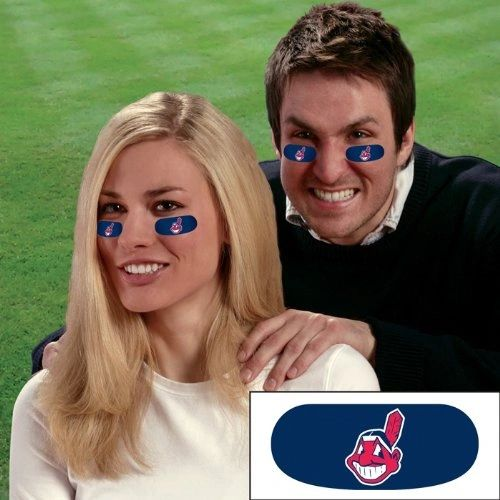 Cleveland Indians Chief Wahoo Eye Strips Decorations