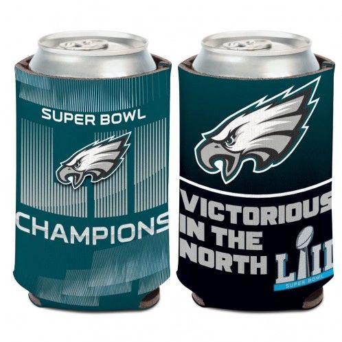 Philadelphia Eagles Super Bowl 52 Can Cooler Koozie