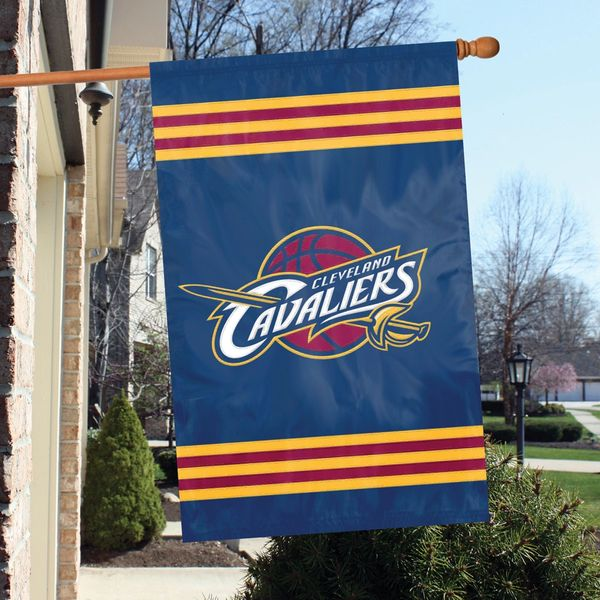 Cleveland Cavaliers 2 Sided Embroidered Vertical House - Wall Flag