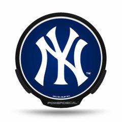 New York Yankees LED Window Decal Light Up Logo Powerdecal
