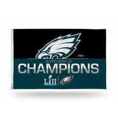 Philadelphia Eagles Super Bowl Champions 3'x5' Wall Banner Flag