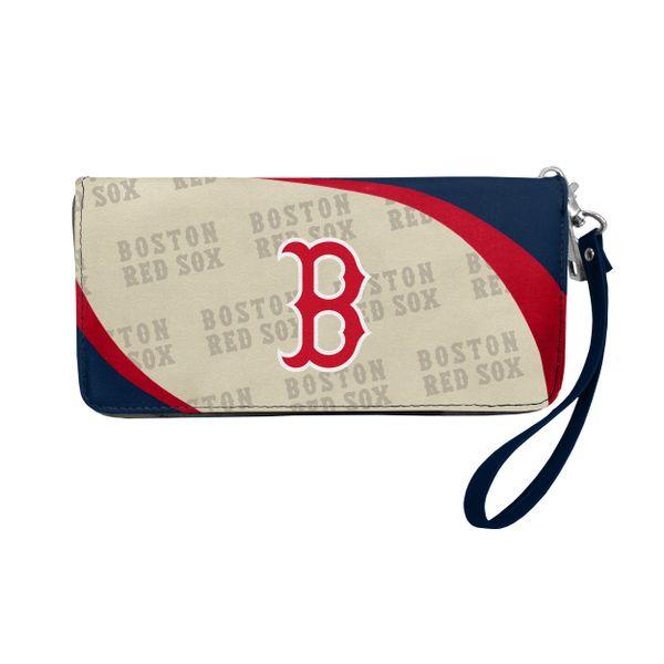 Boston Red Sox Team Logo Women's Zip Organizer Wristlet Wallet MLB