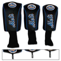 New York Mets Golf Club Covers Headcovers 3 pack MLB Licensed