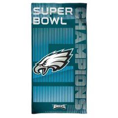 Philadelphia Eagles Super Bowl LII Champions Beach Towel NFL Licensed