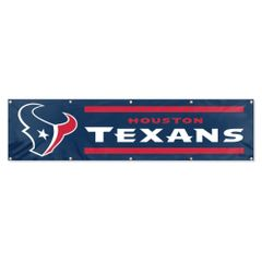 Houston Texans 2' x 8' Wall Banner Flag NFL Licensed