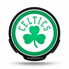 Boston Celtics LED Window Decal Light Up Logo Powerdecal NBA