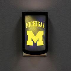 Michigan Wolverines LED Motiglow Night Light NCAA Party Animal
