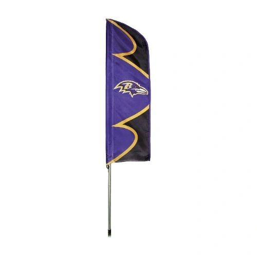 Baltimore Ravens 6' Tailgate - House Swooper Flag