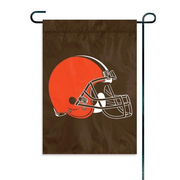 "Cleveland Browns Garden Flag 11"" x 15"" Embroidered NFL"