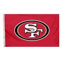 San Francisco 49ers Team Logo Banner Flag 3' x 5' NFL Licensed