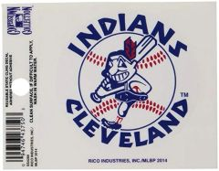 Cleveland Indians Chief Wahoo Static Cling 1970 Cooperstown