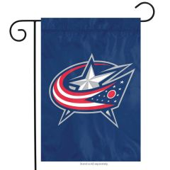 NHL Columbus Blue Jackets Embroidered Garden Flag