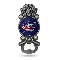 Columbus Blue Jackets Bottle Opener Magnetic Party Starter NHL