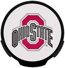Ohio State Buckeyes LED Window Decal Light Up Logo Powerdecal NCAA