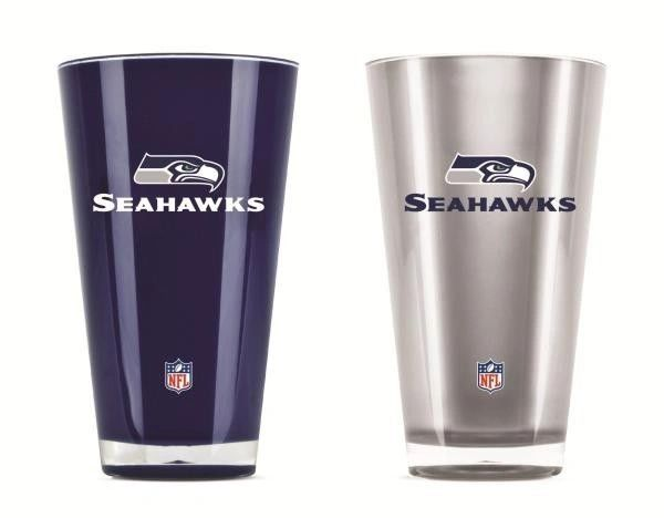Seattle Seahawks Insulated Tumblers Home/Away Twin Pack NFL